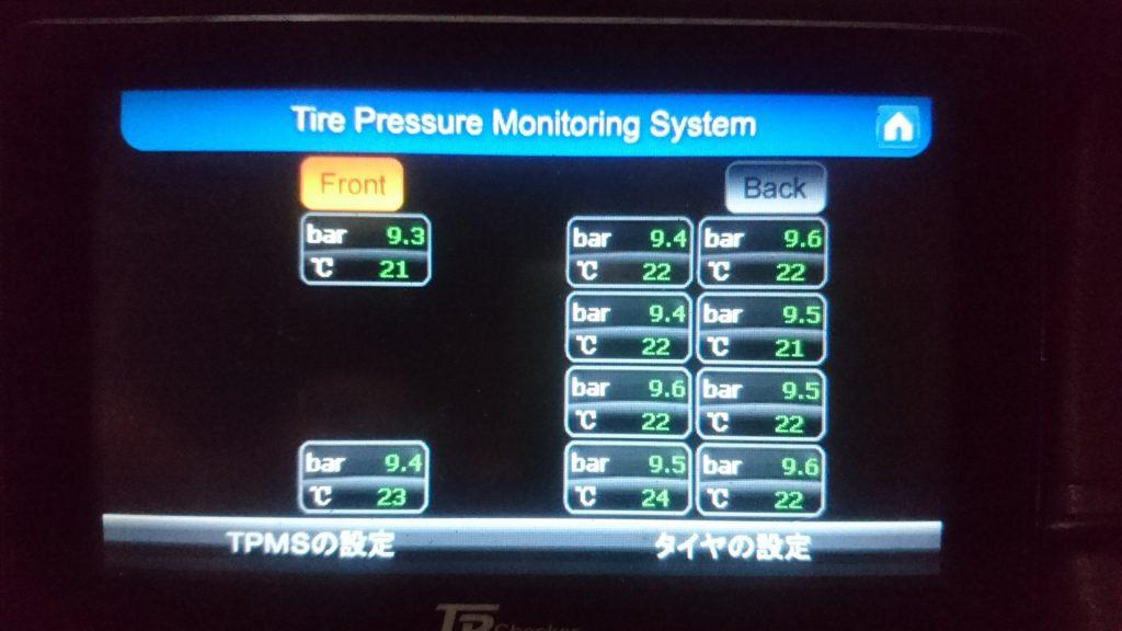 TPMSタイヤ空気圧モニタリングシステム