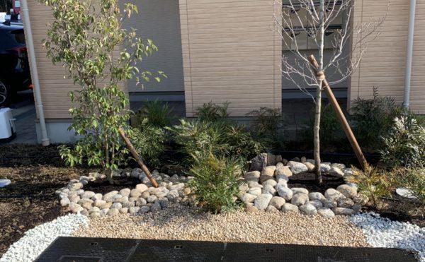 三木営業所の植樹